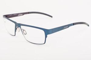 Orgreen ANGUS 294 Matte Dusty Blue / Matte Brown Titanium Eyeglasses 55mm