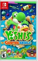 Yoshis Crafted World Nintendo Switch.. Brand New !!