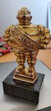 MICHELIN TROPHEE Bibendum Michelin ® en bronze doré en 3 D
