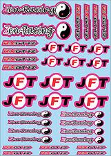 Zen Racing & JFT-Calcomanías Elección De Colores-mineral, Mardave, Schumacher Atom