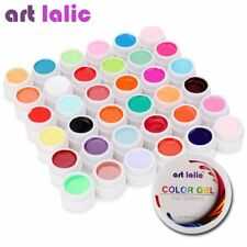 36 Colors UV Gel Set Pure Cover Color Decor For Nail Art Tips Polish Extension