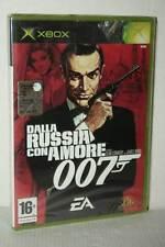 DALLA RUSSIA CON AMORE 007 GIOCO NUOVO SIGILLATO XBOX ED ITALIANA PAL VBC 50543