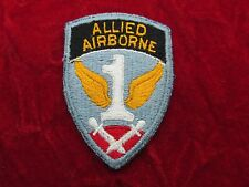 US Army Allied Airborne  patch with original store tag