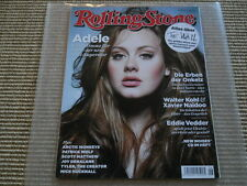 Rolling Stone Juni 2011 Adele Nick Cave The Shangri Las Artic Monkeys
