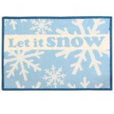 "door mat Merry Christmas ""Let it snow""  machine washable 40X60cm entrance Xmas"