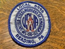 """UNITED STEEL WORKERS AFL CIO Patch Est. 1942 3.25"""" Local 6996 Reading PA CLC"""