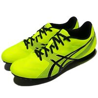 Asics Hyper MD 6 Safety Yellow Black Men Running Shoes Sneakers G502Y-0790