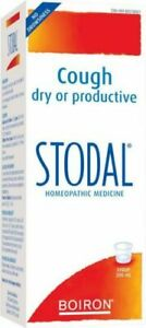 Boiron Stodal Natural Homeopathic Syrup 200ml - from 6+ Original
