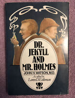 SIGNED! Arthur Conan Doyle DR. JECKYLL & MR. HOLMES - 1st ed. - RARE in SHARP DJ