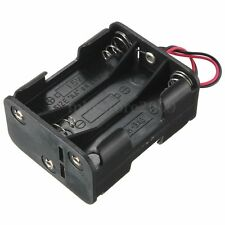 1pcs Plastic Battery Holder Storage Box Case For 6x AA Rechargeable Battery