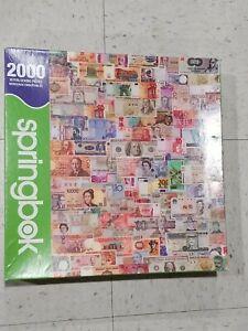 Springbok 2000 Piece Puzzle - COLOR OF MONEY 2007