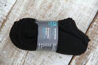 5 Pairs GAP Fit Kids Boy's Black Sz S (fits shoes sz 11-13), M (1-3) Ankle Sock