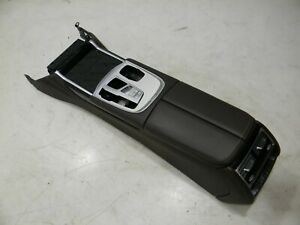 BMW 7er G11 G12 Consolle Centrale Middle Console Pelle Nappa Mokka