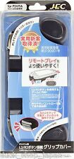 PS Vita 2000 Grip Handle Cover Case + L2 R2 Trigger Button Black Japan FreeShip