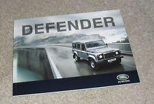 BROCHURE LAND ROVER DEFENDER 2010 - 90 110 PICK UP STATION WAGON Hard Top