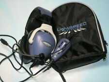 Lightspeed Aviation Twenty 3G  Noise Cancelling Headset   Gently Used with Case