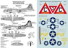 SUPERSCALE DECALS 1/72 B-17F/G Flying Fortress 359th 360th BS 303rd BG (USAAF)