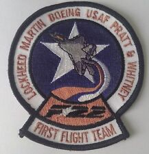 Patch Lockheed F-22 First Flight Team