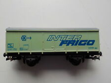 Wagon Fobbi marquage InterFrigo pour train marchandises occasion