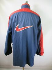 E9170 VTG 90s NIKE Retro Hip-Hop Windbreaker Parka Jacket Size XL
