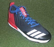 sale retailer e0203 24416 Jurickson Profar juego emitido PE Adidas Botines de béisbol Talla 11 negro  de los Rangers de Texas
