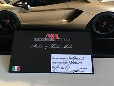 1:18 MR Collection Lamborghini Aventador S - 1 Of 1 In Oro Elios