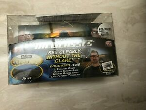 Bell and Howell Tac Glasses Sports Polarized Sunglasses Outdoors damaged box