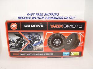 "WDX6MOTO 6.5"" WDX69MOTO 6x9 2Way Speakers Harley Bagger Motorcycle TPT-500.4 AMP"