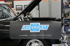 Chevrolet Bowtie Logo Fender Gripper 45 X22 Extra Long Black Cover Elfg2001