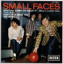 """60's MOD 7"""" FRENCH EP - SMALL FACES - WHATCHA GONNA DO ABOUT IT+++ REISSUE"""