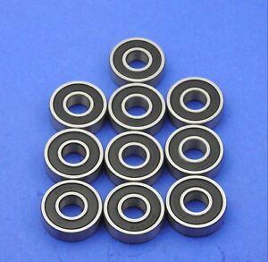 10 Stück Kugellager, Rillenkugellager 6000 2RS (10x26x8 mm)