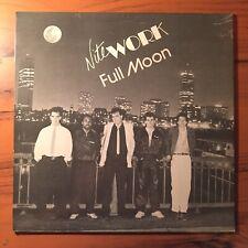 """NITEWORK Full Moon 12"""" EP 1987 Private Rock BOOGIE Massachusetts K&L 101"""