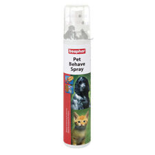 Beaphar Canac Pet Behave Training Spray 125ml Dog Cat Kitten Puppy Stop Chewing