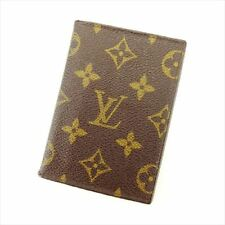 Louis Vuitton Pass holder Monogram Brown Woman Authentic Used C3245