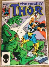 MARVEL COMICS #358 MIGHTY THOR VF-NM COMIC BAGGED & BOARDED