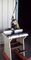 Electric Single Hole Industrial Paper Drill  Model Concorde '92 O.M.