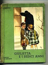 Giana Anguissola # GIULIETTA E I SEDICI ANNI # La Sorgente 1956