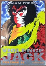 Violence Jack n. 11 di Go Nagai ed. D-Visual * SCONTO 40% * NUOVO!