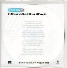 (AL583) Scuba Z, I Don't Get Out Much - DJ CD