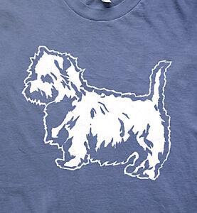 Westie terrier Eastfield class 37 model railway t shirt