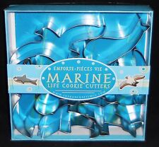 Marine Life  Cookie Cutters by Fox Run  7 Pcs