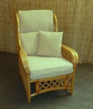 NEW WASHABLE VELOUR CHAIR CUSHION COVER SETS FOR WICKER CANE RATTAN  FURNITURE