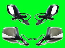 FORD BRONCO F150 F250 F350 1992 93 1994 1995 1996 CHROME POWER SIDE Mirror PAIR
