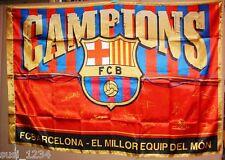 BANDERA FC BARCELONA CAMPIONS 2011 Prod. Oficial