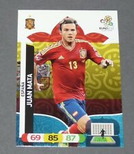 JUAN MATA ROJA ESPAGNE ESPAÑA FOOTBALL CARD PANINI UEFA EURO 2012