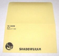 VINTAGE OFFICIAL THE SHADOW FAN MAIL ENVELOPE WALTER B GIBSON MAXWELL GRANT CLUB