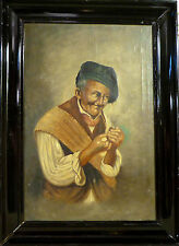 UNSIGNED! NEAPOLITAN FISHERMAN SMOKING PIPE. NO RESERVE