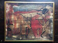 Alberto Sartoris Italian Futurist Abstact Original Oil Painting Signed 1959 RARE