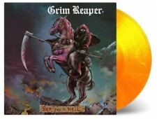 Grim Reaper – See You In Hell Orange Numbered LP Vinyl NEW!!