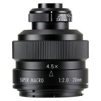 Zhongyi Mitakon 20mm f/2 4.5X Super Macro Lens for DSLR Pentax K-1 K5 K3 K mount